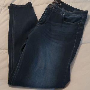 EnJean Skinny Jean's Dark Was EUC